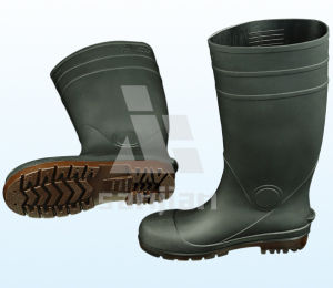 Jy-6245 Elephant Rubber Rain Boots with Fur Lining pictures & photos