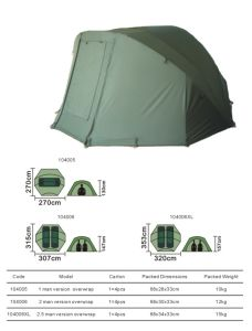 Carp Fishing Bivvy (104005-104006XL)