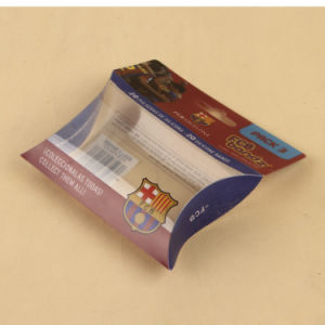 Plastic small gift packing box in pillow shape (PVC package) pictures & photos