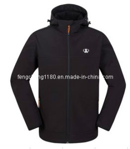 Man Waterproof Softshell Jacket pictures & photos