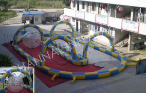 Inflatable Sport Games/Inflatable Racing Track (Chsp137) pictures & photos