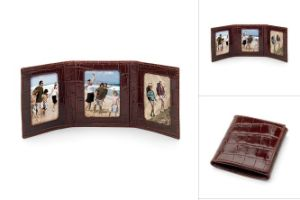 Leather Travel Photo Frame