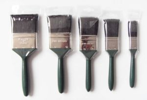 Plastic Handle Paint Brush (680) with Black Bristle Material pictures & photos