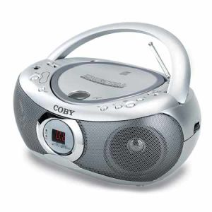 Portable CD Player with AM/FM Stereo Tuner (CX-CD236)