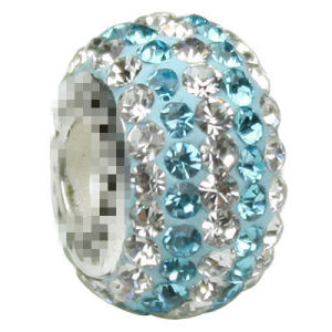 Authentic Crystal 925 Bead Blue River