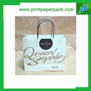 Custom Embossing Printed Kraft Paper Carrier Bag Gift Bag Shopping Bag Cosmetic Bag pictures & photos