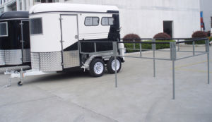 2 Horse Straight Load Deluxe Trailer GW-2HSL With Horse Yard pictures & photos