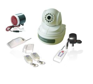 WCDMA Home Security Alarm System