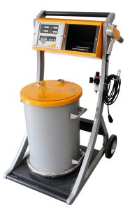 Hopper-Feed Manual Coating Equipment pictures & photos