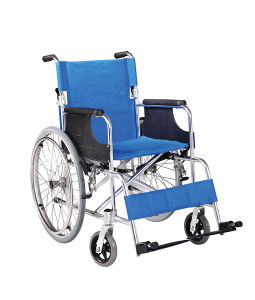 Medical Equipment Functional Aluminum Wheelchair 6-38 pictures & photos