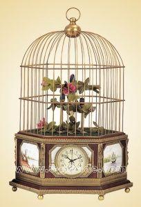 Bird Cage Clock (JG5067)