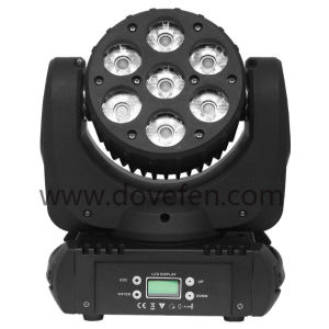 7PCS*12W 4in1 Moving Head LED Stage Lamp (HL-010BM) pictures & photos