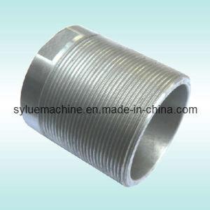 CNC Machining Hex Zinc Coating Ductile Iron Coupling pictures & photos