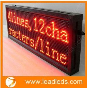 Good Performance Single Color Route Destination LED Bus Display