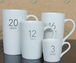 Coffee Porcelain Ceramic Cup/Mug for Promotion (AA0048) pictures & photos