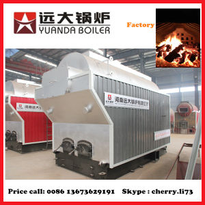Packaged 1ton/H Hot Water Generation Wood Fired Central Heating Boiler pictures & photos
