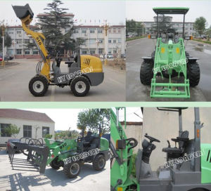 CE Approved Farm Wheel Loader (HY910) pictures & photos