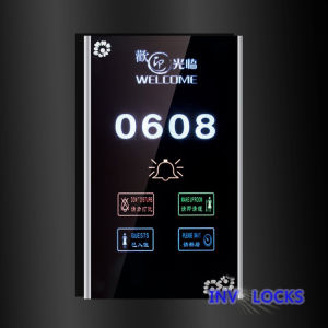Six-in-One Electronic Doorplate (MP03-SS) pictures & photos