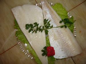 Frozen Pacific Atlantic Cod Fillets