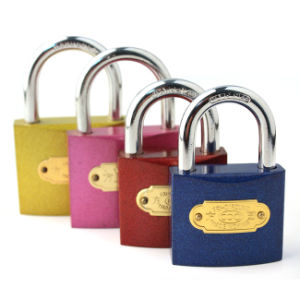 Colourful Iron Padlock, Iron Padlock (AL-20-63) pictures & photos