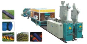 Double-Wall Corrugated Pipe Extrusion Line of HDPE/PP