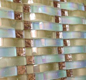 Crystal Glass Mosaic Tile, Mosaic Wall Tile (HGM376) pictures & photos