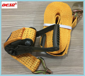50mmx8m Polyester Cargo Lashing Ratchet Tie Down pictures & photos
