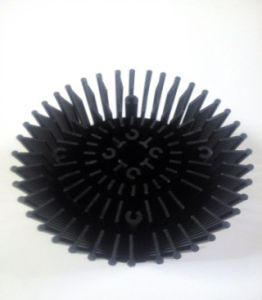 Custom Processing Services 15W LED Heat Sink pictures & photos