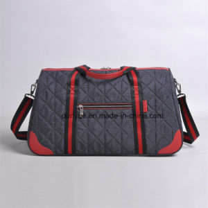 Young Design Factory OEM Business Trip Travel Bag, Durable Nylon Weekend Luggage Bag with Adjustable Shoulder Belt pictures & photos