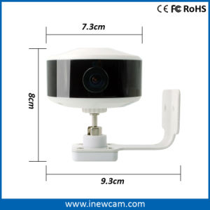 720p Mini Wireless 150 Degree Wide View Angle IP Camera pictures & photos
