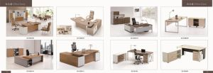 Modern MDF High Quality Office Table Executive Curved Desk (SZ-OD364) pictures & photos