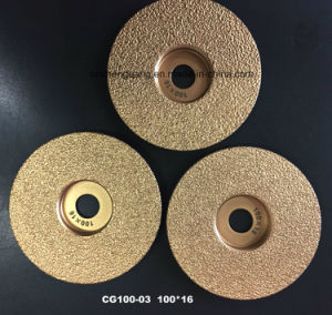 Vacuum Brazed Diamond Grinding Saw Blade for Concrete Cutting pictures & photos