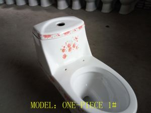Promotion Elongated One-Piece Toilet for Middel East pictures & photos