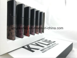 Kylie Birthday Edition Matte Liquid Lipstick Rouge a Levres Liquide Au Fini Mat 6 Color Cosmetic Lipgloss pictures & photos