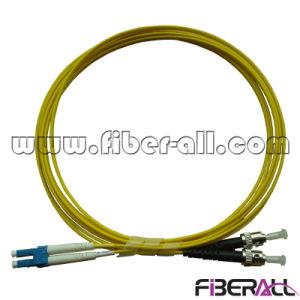 LC/PC-ST/PC Optical Fiber Patch Cord Sm Duplex pictures & photos