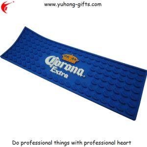 3D Non-Toxic Rubber Bar Mat for Promotion (YH-BM051) pictures & photos