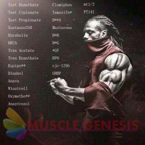 Testosterone Sustanon 250 Raw Anabolic Steroids Hormone Premixed Sustanon 250mg/Ml pictures & photos