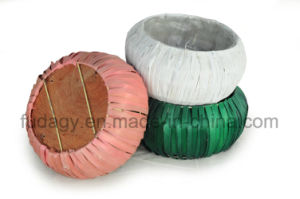 Ball Shaped Wooden Chip Garden Planter pictures & photos
