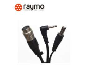 4 Pin Hirose Plug with DC 2.0 Audio Video Camera Cable pictures & photos