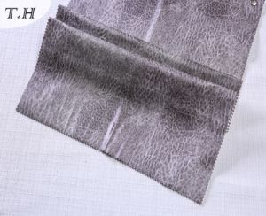 Artificial Faux Suede Fabric with Print and Special Pattern pictures & photos