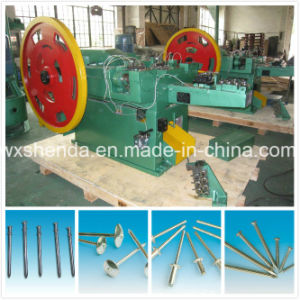 High Speed Easy Operate Steel Nail Making Machine pictures & photos