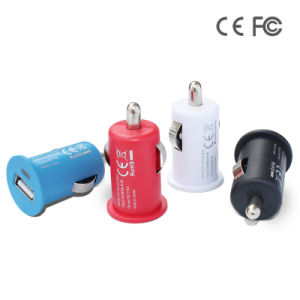 Portable Single USB Port Car cigarette Charger for iPhone pictures & photos