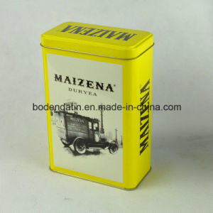 Custom Metal Tin Box for Tea with Rectangular Shape pictures & photos