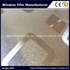 Self Adhesive 3D Window Film, Sparkle 3D Decorative Stained Glass Window Film 1.22m*50m pictures & photos