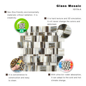Building Materials Tile Kitchen Backsplash Stained Glass Pieces Mosaic pictures & photos