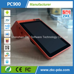 Dual Display Touch Screen POS Payment Zkc900 with Thermal Printer/NFC Card Reader/Barcode Scanner pictures & photos