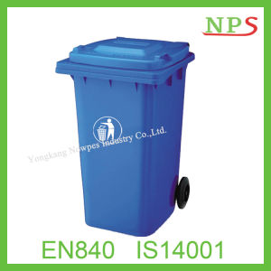 240 Liter Durable HDPE Plastic Foot Pedal Wastebin pictures & photos