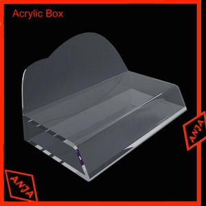 Acrylic Brochure Holder Acrylic Display Risers for Store pictures & photos