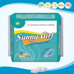 260mm  Sunny  Girl  10+5 Sanitary  Napkins pictures & photos