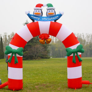 Outdoor Christmas Decoration Inflatable Party Arch pictures & photos
